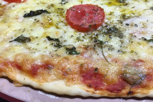 Massa de pizza