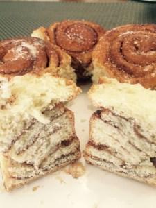 Cinnamon roll - receita