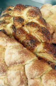 Pão trançado - Challah