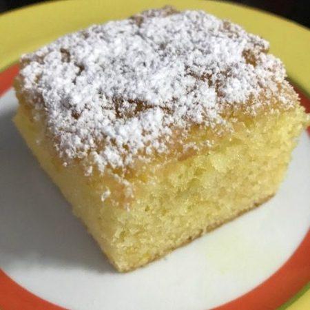 Cake au citron - receita clássica