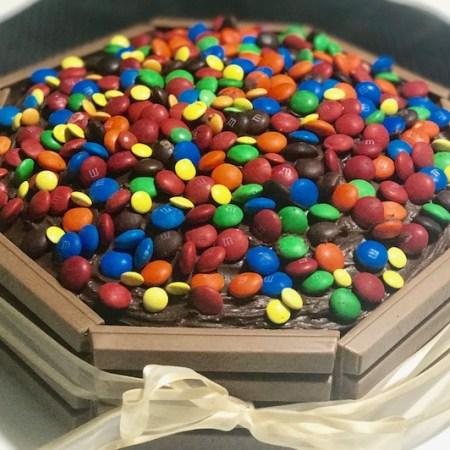 Bolo de Chocolate Kit Kat