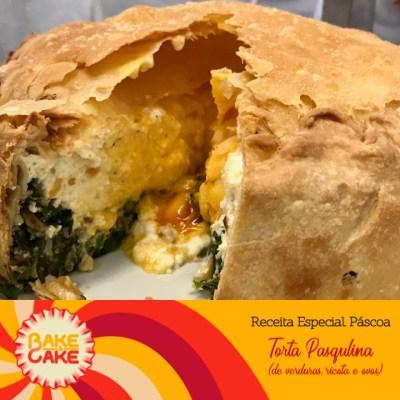 Torta pasqualina - torta de verduras e ricota