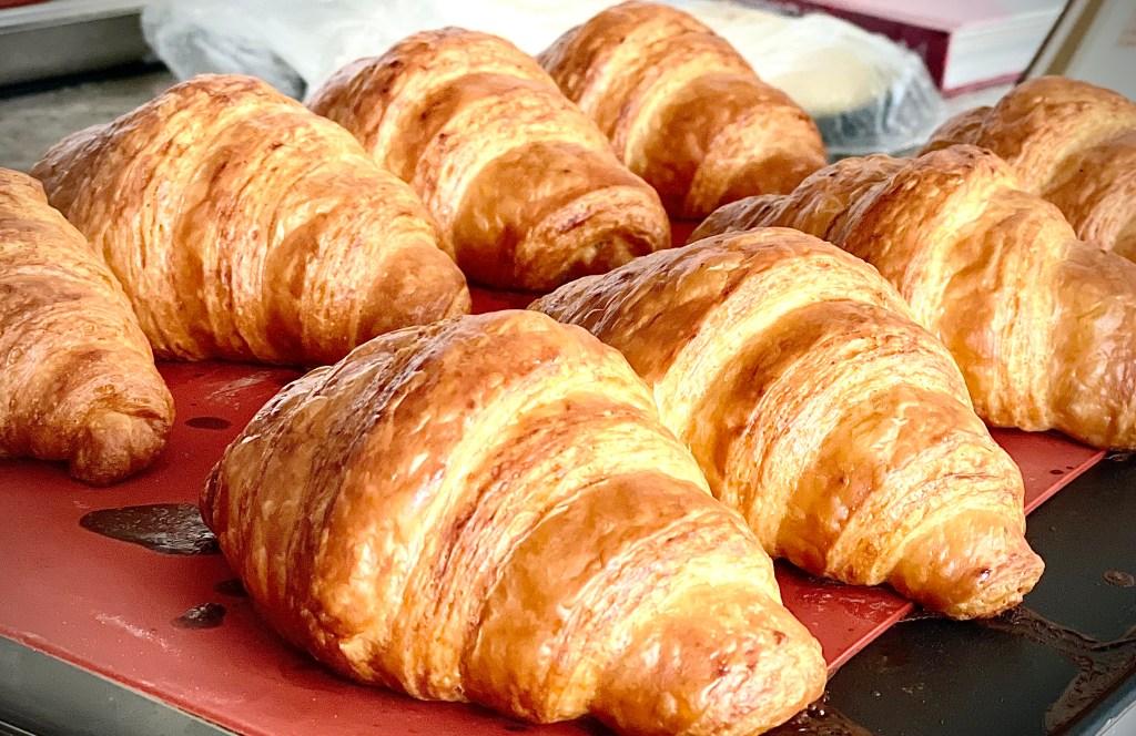 receita de croissant 50% de manteiga