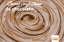 Creme confeiteiro de chocolate