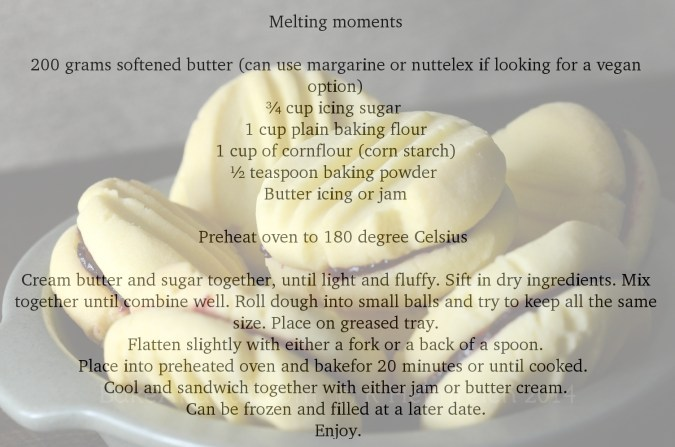 Melting Moment recipe