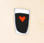Love Guinness pin by Very Happy Everything