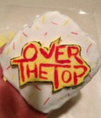 Over the Top logo cookie