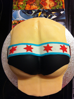 Cm Punk butt cake