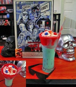 Kick Ass and Chew Bubblegum Shake