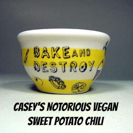 Vegan Super Bowl Snack Party: Sweet Potato Chili