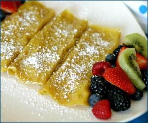 Vegan Crepe Recipe + Vegg Giveaway