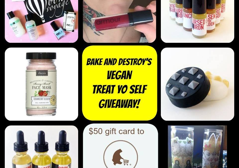 Vegan Treat Yo Self Favorite Things and Giveaway