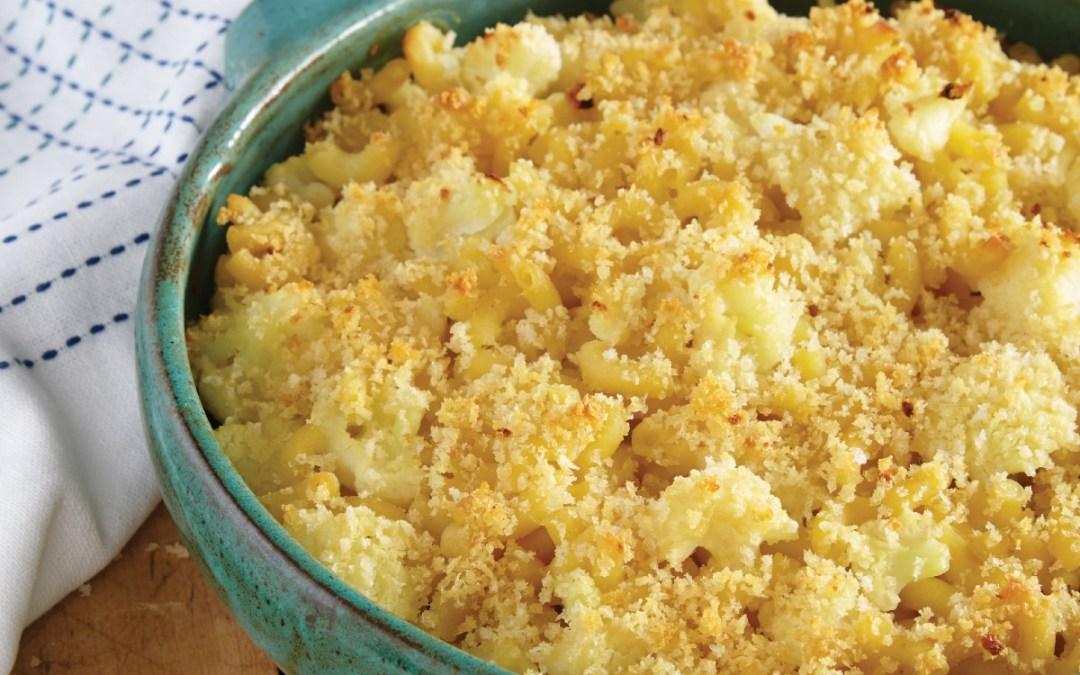 Vegan Casseroles: Truffled Cauliflower Mac & Cheese