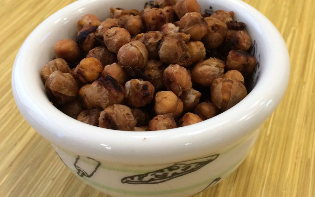 Chipotle Lime Chickpeas + Plant-Based Journey Giveaway