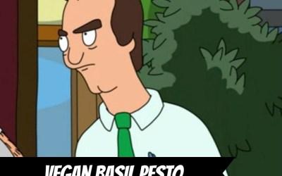 Basil Pesto from Crossroads by Tal Ronnen