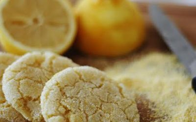 The Vegan Cookie Connoisseur: Lemon Cornmeal Cookies