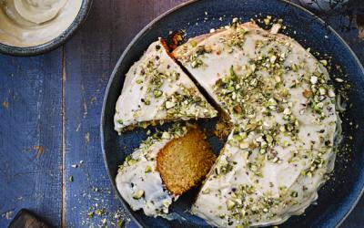 The New Vegan: Gluten-free Orange Polenta Cake Recipe