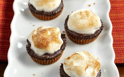 Aquafabulous: Vegan S'Mores Cups Recipe