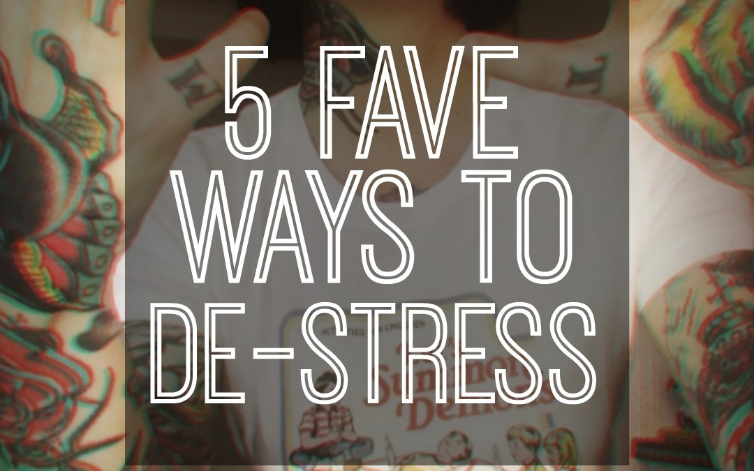 Friday Five: Fave Natural Remedies for Stress