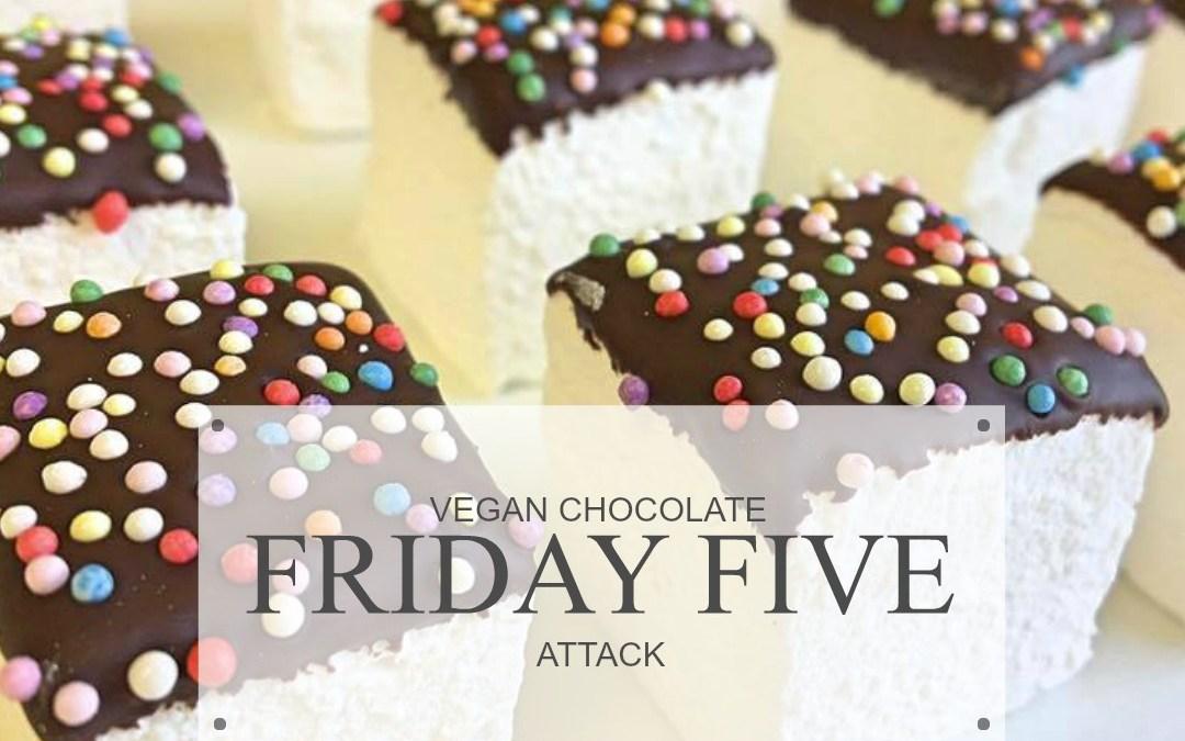Friday Five: Vegan Chocolate Attack