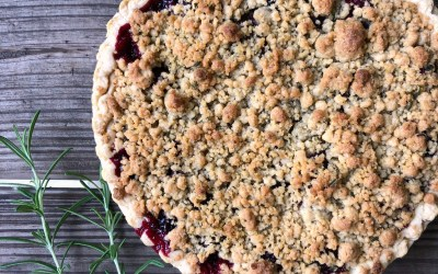 Vegan Cherry Rosemary Pie Recipe Take Two