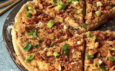 Epic Vegan: Crab Rangoon Pizza Recipe
