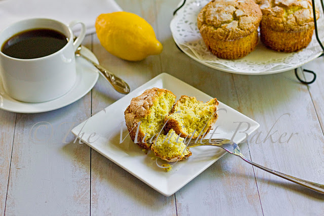 Lemon Poppy Muffins
