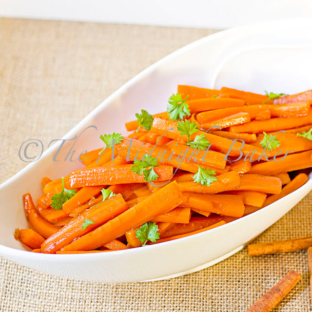 Candied Carrot Stix