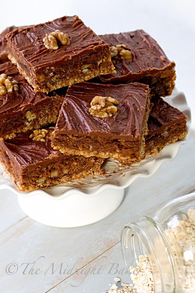 Tri-Level-Brownies | bakeatmidnite.com | #brownies