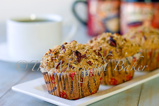 Coffee Pecan Muffins