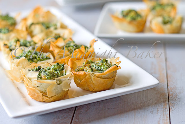 Spinach & Sausage Nibblers