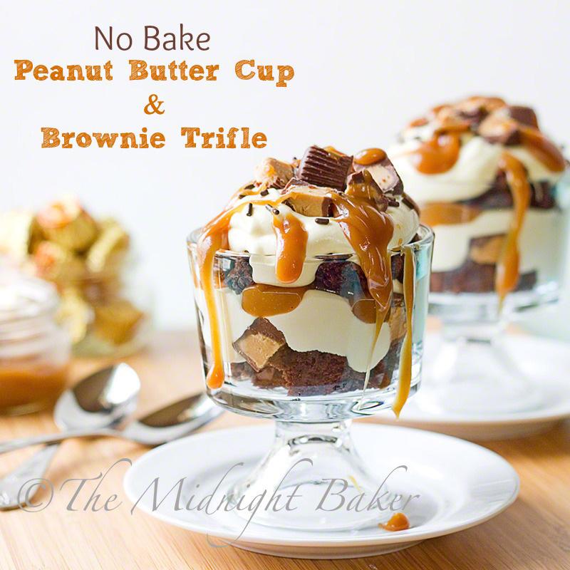 Peanut Butter Cup Trifle | bakeatmidnite.com | #dessert #peanutbuttercups #trifle