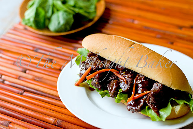 asian bbq beef strips