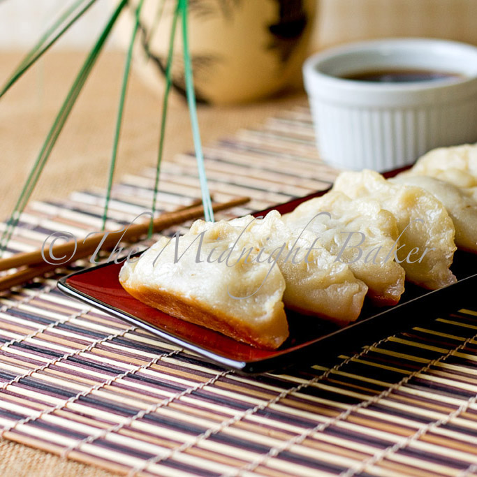 Pot stickers are easy to make at home and cheaper than take out!