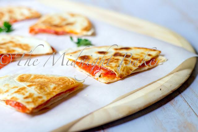 Pizza Quesadillas