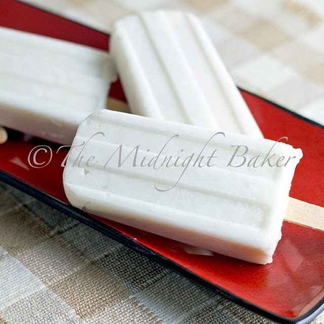 Coconut Banana Popsicles