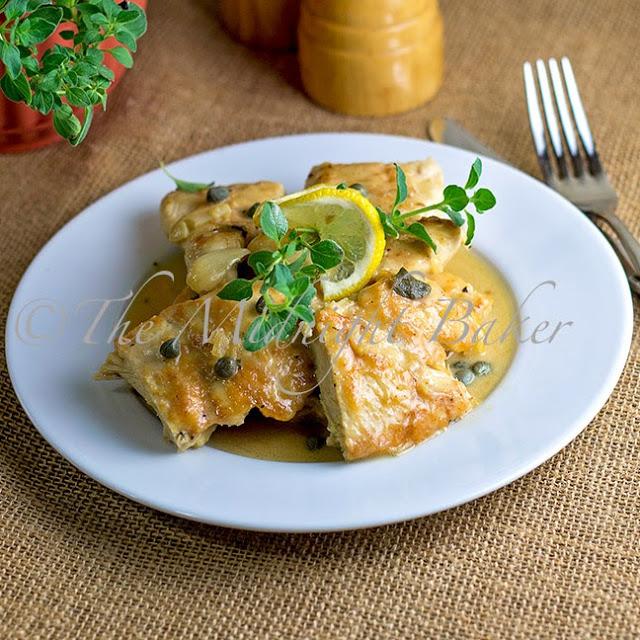 Lemon Chicken Oreganata