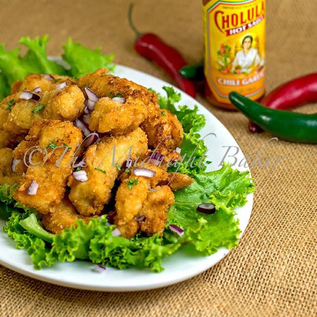 Cholula Chili Garlic Chicken Strips