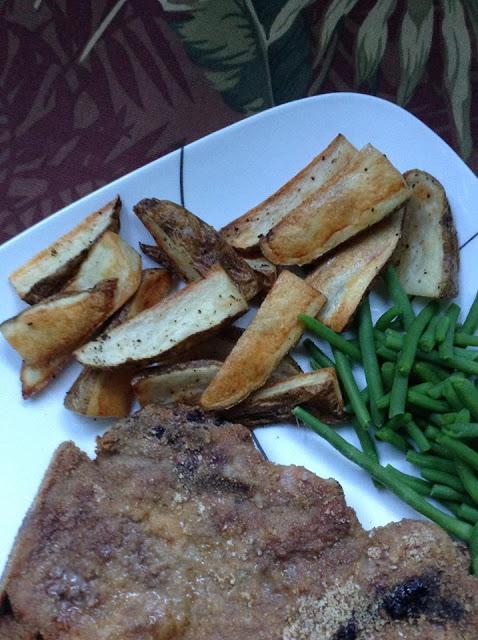Oven Steak Fries