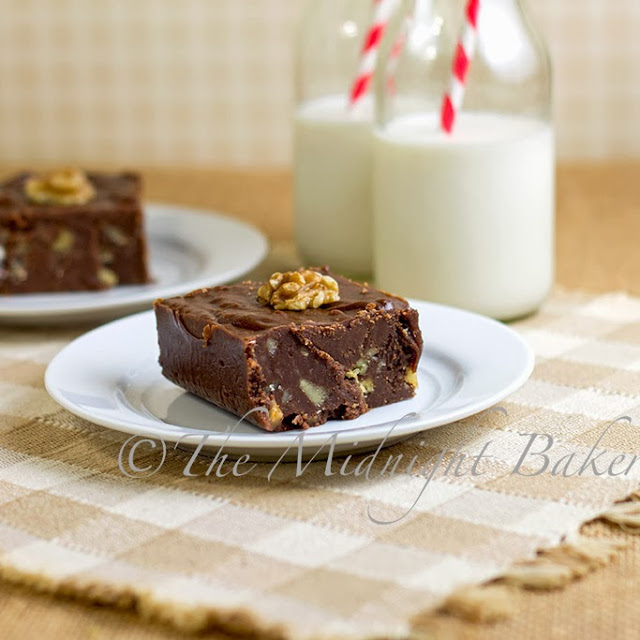 No-Bake Brownies