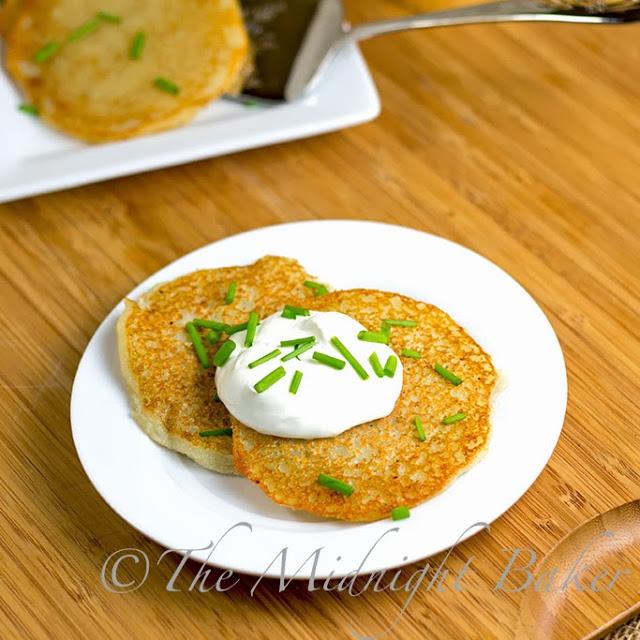 Quick Potato Pancakes (Latkes)