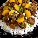 Ginger Beef with Mandarin Oranges