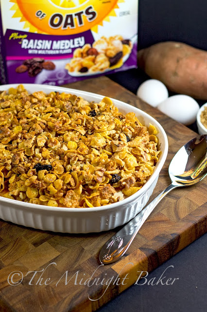 Post Honey Bunches of Oats with Praline Sweet Potato Crunch