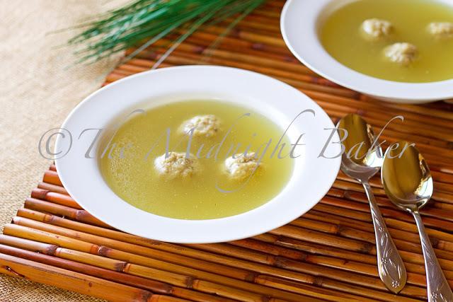 Chicken Soup with Matzoh Balls #ChickenSoupRecipe #Passover