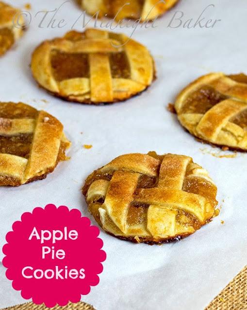 Apple Pie Cookies #RefrigeratedPieCrust #ApplePie #cookies