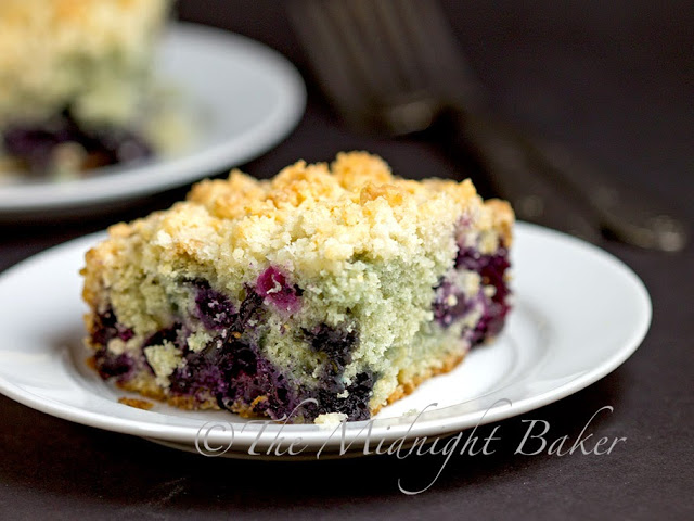 Blueberry Lemon Crumb Cake #CoffeeCake #blueberry #breakfast