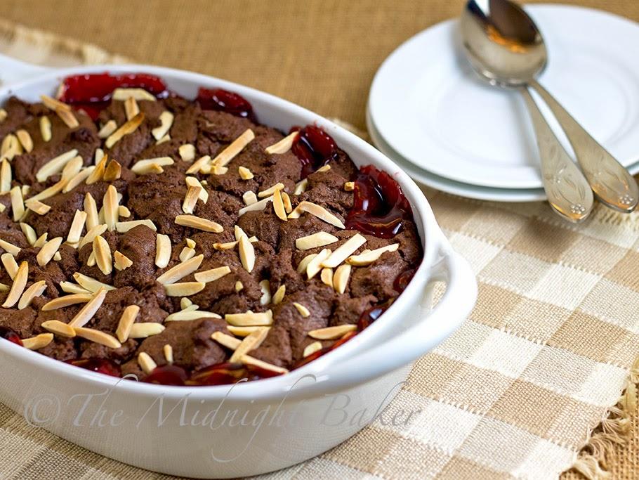 Cracker Barrel Cherry Chocolate Cobbler #CrackerBarrelCopycat #CopycatRecipes #ChocolateCherryCobblerRecipe