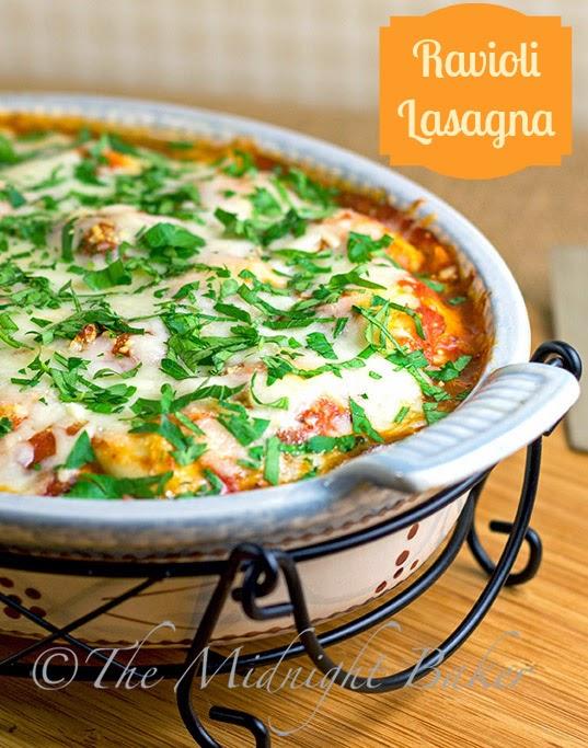 Ravioli Lasagna #RavioliLasagnaRecipe #QuickItalianFood #ravioli
