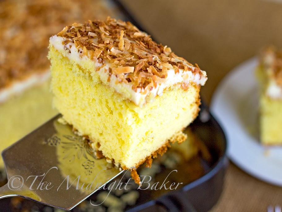 Tropic Isle Coconut Cake #CakeMix #DoctoredCakeMix #CoconutCake