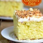 Tropic Isle Coconut Cake